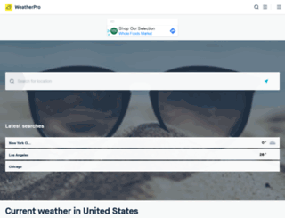 mojapogoda.com screenshot