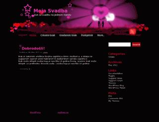 mojasvadba.com screenshot