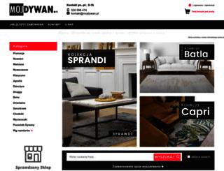 mojdywan.pl screenshot