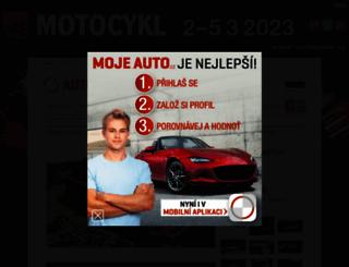 moje.auto.cz screenshot