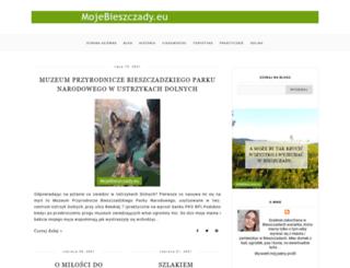 mojebieszczady.blogspot.com screenshot