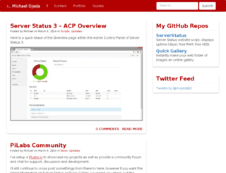 mojeda.com screenshot