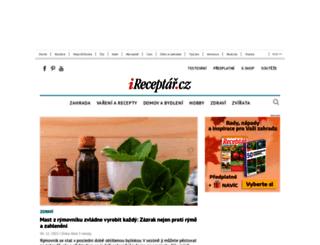 mojedilo.ireceptar.cz screenshot