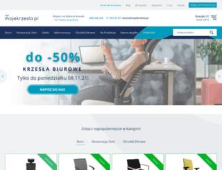mojekrzesla.pl screenshot