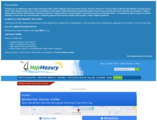 mojemazury.pl screenshot