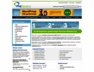 mojforum.si screenshot