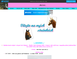 mojisportacci.wbs.cz screenshot