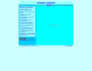 mojleksikon.com screenshot