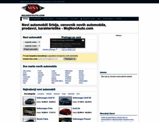 mojnoviauto.com screenshot