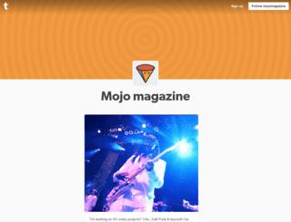 mojomagazine.tumblr.com screenshot