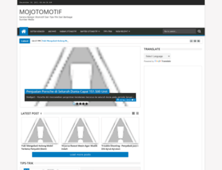 mojotomotif.blogspot.com screenshot