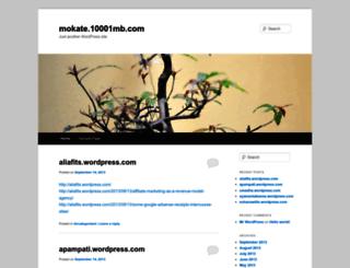 mokate.10001mb.com screenshot
