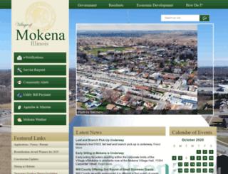 mokena.org screenshot