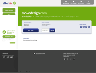 mokodesign.com screenshot