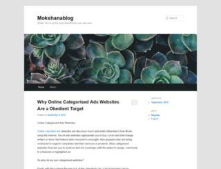 mokshanablog.wordpress.com screenshot
