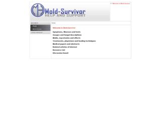 mold-survivor.com screenshot