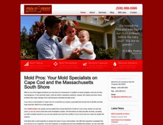 moldcarepros.com screenshot