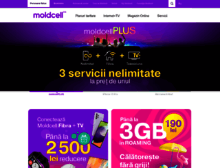 moldcell.md screenshot
