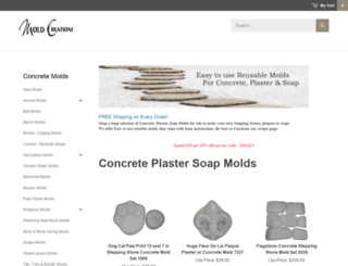 moldcreations.com screenshot