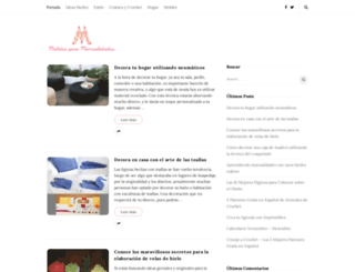 moldesparamanualidades.com screenshot