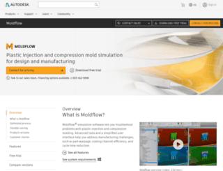 moldflow.com screenshot