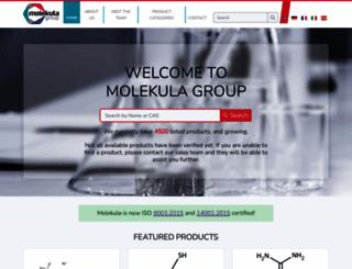 molekula.com screenshot