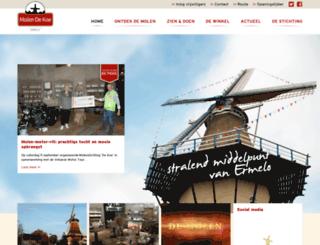 molendekoe.nl screenshot