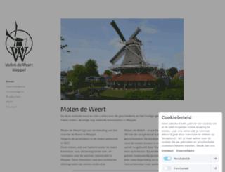 molendeweert.nl screenshot