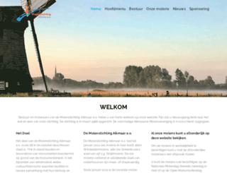 molenstichtingalkmaar.nl screenshot