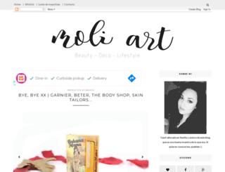 moli-art.blogspot.com screenshot