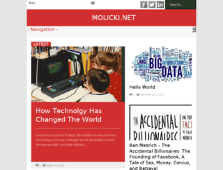 molicki.net screenshot