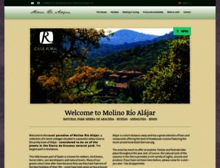 molinorioalajar.com screenshot