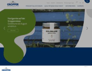 molkerei-gropper.de screenshot