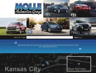 molleautomotivegroup.com screenshot