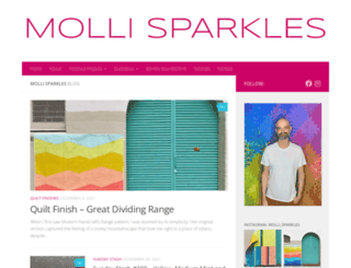 mollisparkles.com screenshot