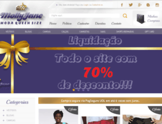 mollyjane.com.br screenshot