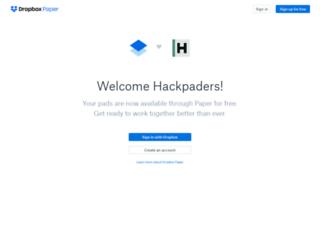 molmolk.hackpad.com screenshot