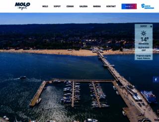 molo.sopot.pl screenshot