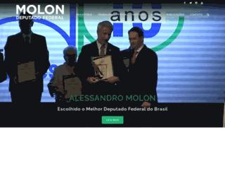 molondeputado.com.br screenshot