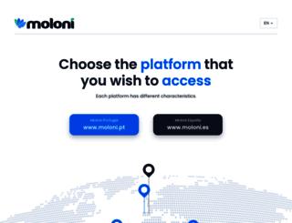 moloni.com screenshot