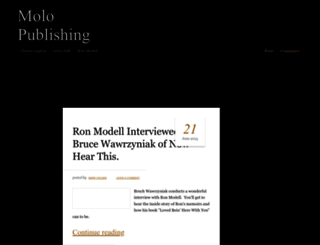 molopublishing.com screenshot