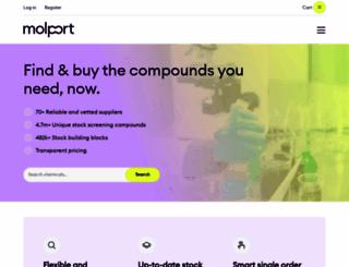 molport.com screenshot