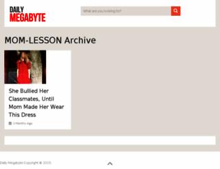 mom-lesson.dailymegabyte.com screenshot