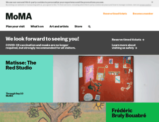 moma.org screenshot