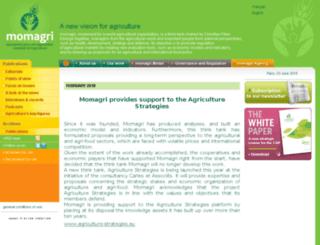 momagri.org screenshot
