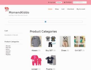 momandkiddo.com screenshot