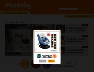 mombaby.com.tw screenshot