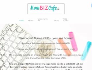 mombizcafe.com screenshot