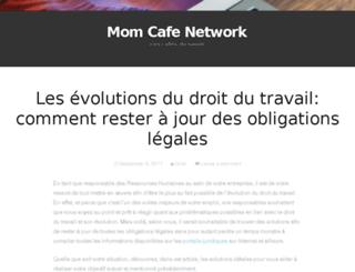 momcafenetwork.com screenshot