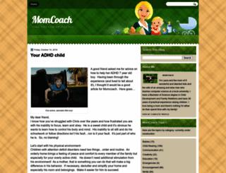 momcoach.hopali.com screenshot